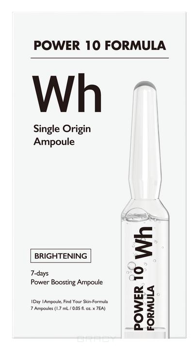 Купить It's Skin, Набор выравнивающих тон сывороток для лица Power10 Formula WH Single Origin Ampoule, 1, 7мл*7шт