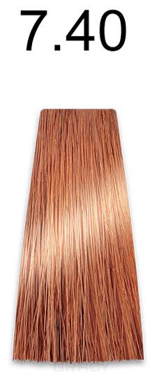 Купить Kaaral, Стойкая безаммиачная крем-краска с гидролизатами шелка Baco Soft Ammonia Free, 60 мл (42 оттенка) 7.40 медный блондин