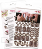 Купить E.Mi, Трафареты-слайдеры Naildress Slider Design (56 видов) Леопард