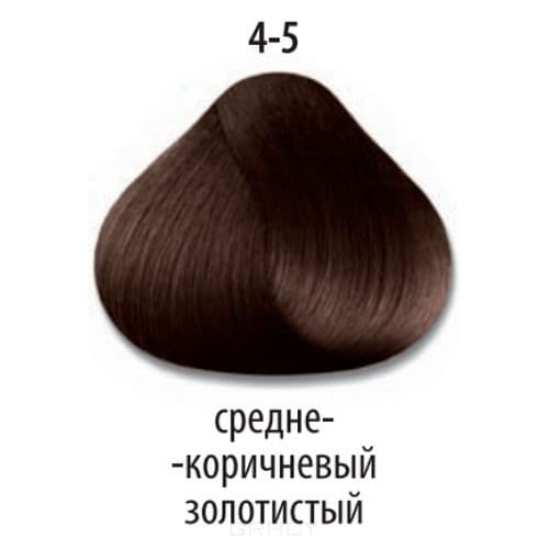 Constant Delight, Стойкая крем-краска для волос Delight Trionfo (63 оттенка), 60 мл 4-5 Средний коричневый золотистыйЩетки для волос<br>Краска для волос Constant Delight Trionfo - это уникальное средство, способное придать волосам здоровый вид и блеск.<br>  <br>Крем-краска Трионфо от Констант Делайт наосится на невымытые сухие волосы. Выдерживается средство на волосах до 45 минут. <br> Constan...<br>