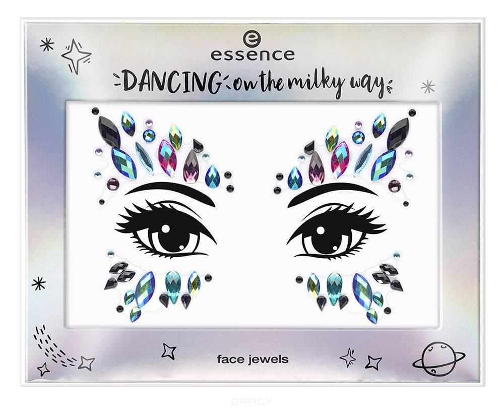 Essence, Наклейки-украшения для лица Dancing on The Milky Way (2 варианта), №1  - Купить