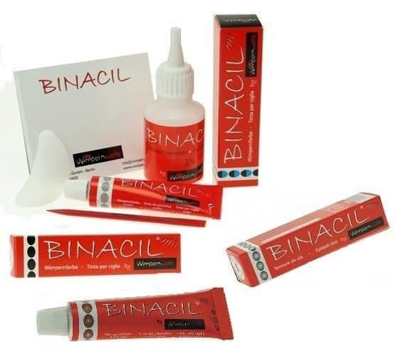 Binacil, Краска для бровей Binacil, 15 мл (5 цветов), Графит, 15 млЩетки для волос<br>Краска для бровей Binacil   стойкий результат на 6 недель!<br> <br>Идеальная линия бровей, естественный оттенок, несомненно, придают внешности ухоженности и элегантности. Сегодня большой популярностью пользуется процедура окрашивания бровей, но главный недо...<br>