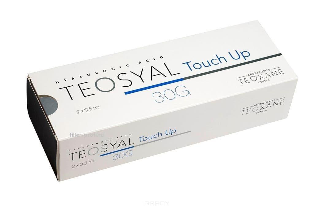 Гиалуроновый филлер для устранения кожных, линейных, носогубных складок Touch Up, 2 х 0,5 мл
