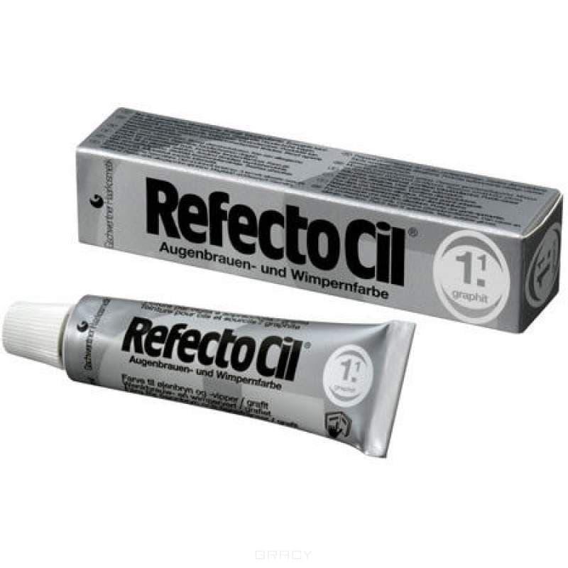 цена RefectoCil, Краска для бровей и ресниц, 15 мл (10 цветов) №1.1 Графит