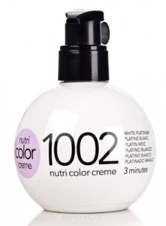 Revlon, Крем-краска для волос 3 в 1 Nutri Color Creme, (52 оттенка) 1002 Платиновый