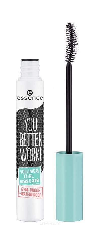 Купить Essence, Тушь для ресниц You Better Work! Volume & Curl Mascara, 10 мл