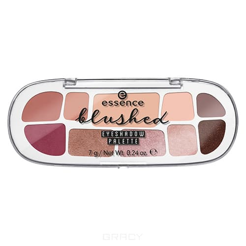 Essence, Палетка теней для век Eyeshadow Blushed Palette, 7 гр