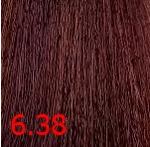 Купить Kaaral, Крем-краска для волос Baco Permament Haircolor, 100 мл (106 оттенков) 6.38 темный блондин золотисто-коричневый