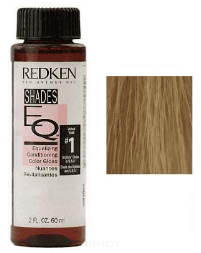 Redken, Краска-блеск без аммиака Shades Eq Gloss, 3*60 мл (45 оттенков) 07B redken shades eq gloss краска блеск без аммиака для тонирования и ухода тон 07c 3 60 мл