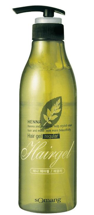 Гель для укладки волос МФ Хэнна Henna Hair gel regular, 500 мл sexy hair гель пена для укладки blow it up gel foam 150 мл