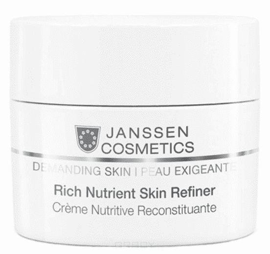 Janssen, Обогащенный дневной питательный крем SPF15 Rich Nutrient Skin Refiner, 10 мл janssen rich nutrient skin refiner обогащенный дневной питательный крем spf 4 50 мл