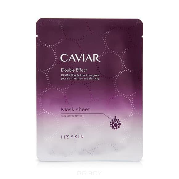 It's Skin, Caviar Double Effect Mask Sheet Тканевая маска антивозрастная, 22 мл retinol интенсивная антивозрастная тканевая маска интенсивная антивозрастная тканевая маска