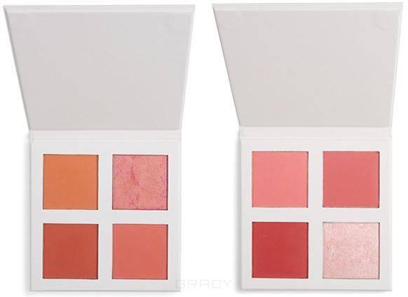 Revolution Pro, Палетка румян 4K Blush Palette (2 вида), 4 оттенка, Peach mac pro palette палетка средняя 2 оттенка pro palette палетка средняя 2 оттенка
