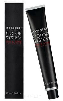 La Biosthetique, Краска для волос Ла Биостетик Tint & Tone, 90 мл (93 оттенка) 125+ Бежево-красный