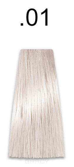 Купить Kaaral, Стойкая безаммиачная крем-краска с гидролизатами шелка Baco Soft Ammonia Free, 60 мл (42 оттенка) .01 натуральный пепельный