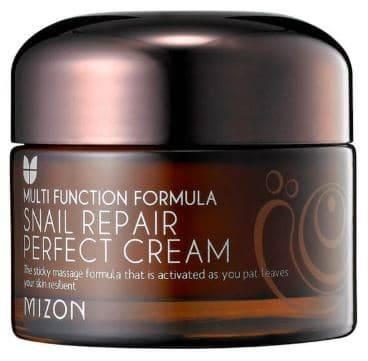 Купить Mizon, Snail Repair Perfect Cream восстанавливающий крем для лица с экстрактом слизи улитки Мизон, 50 мл