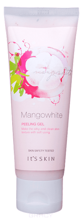 It's Skin, Смягчающий пилинг-гель Манго Вайт Skin MangoWhite Peeling Gel, 120 мл usb rechargeble ems skin lifting rejuvenation ultrasonic galvanic ion skin cleaning cleaner scrubber peeling massager machine
