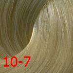 Купить Estel, De Luxe Стойкая крем-краска для волос серии Эстель Silver, 60 мл (60 оттенков) 10/7 Светлый блондин коричневый