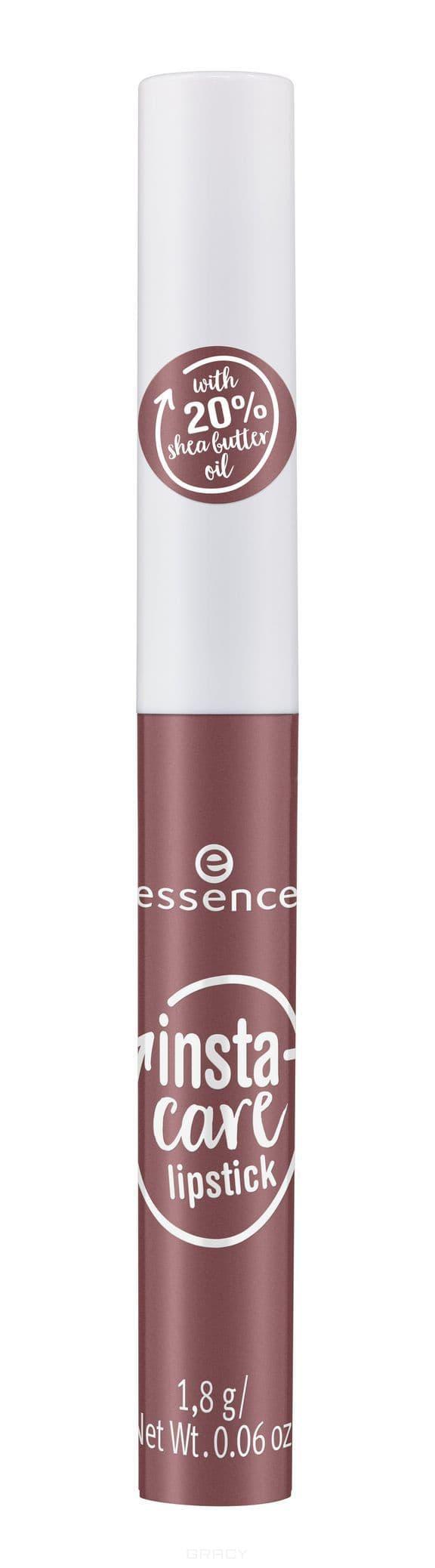 Купить Essence, Губная помада Insta-Care, 1.8 гр (6 тонов) №02, пурпурно-коричневый