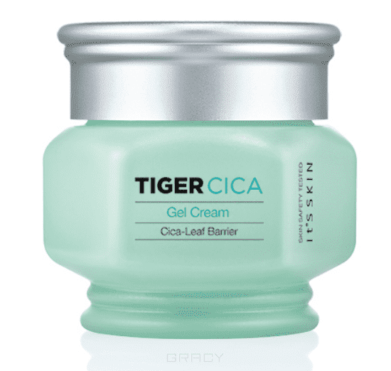 Крем для лица анти-стресс для лица Тайгер, освежающий Tiger Cica Gel Cream, 50 мл tiger cica moisturizing balm бальзам для омоложения лица it s skin tiger cica moisturizing balm