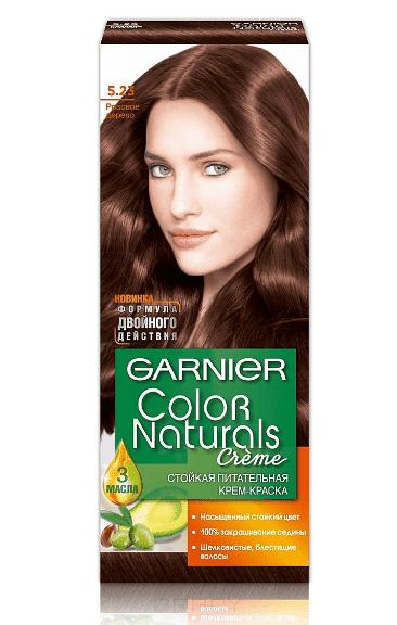 Garnier, Краска для волос Color Naturals (30 оттенков), 110 мл 5.23 Розовое деревоОкрашивание<br><br>