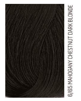 Lakme, Перманентная крем-краска для волос без аммиака Chroma, 60 мл (54 тона) 6/65 Темный блондин коричнево-махагоновый фото