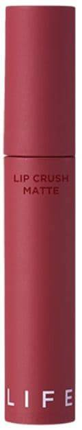 It's Skin, Матовая помада Лайф Калор Life Color Lip Crush Matte, 5 г (15 оттенков) 12 CRUSH MATTE жидкая помада it s skin life color lip crush matte 06 цвет 06 drop the beat variant hex name ee4e68