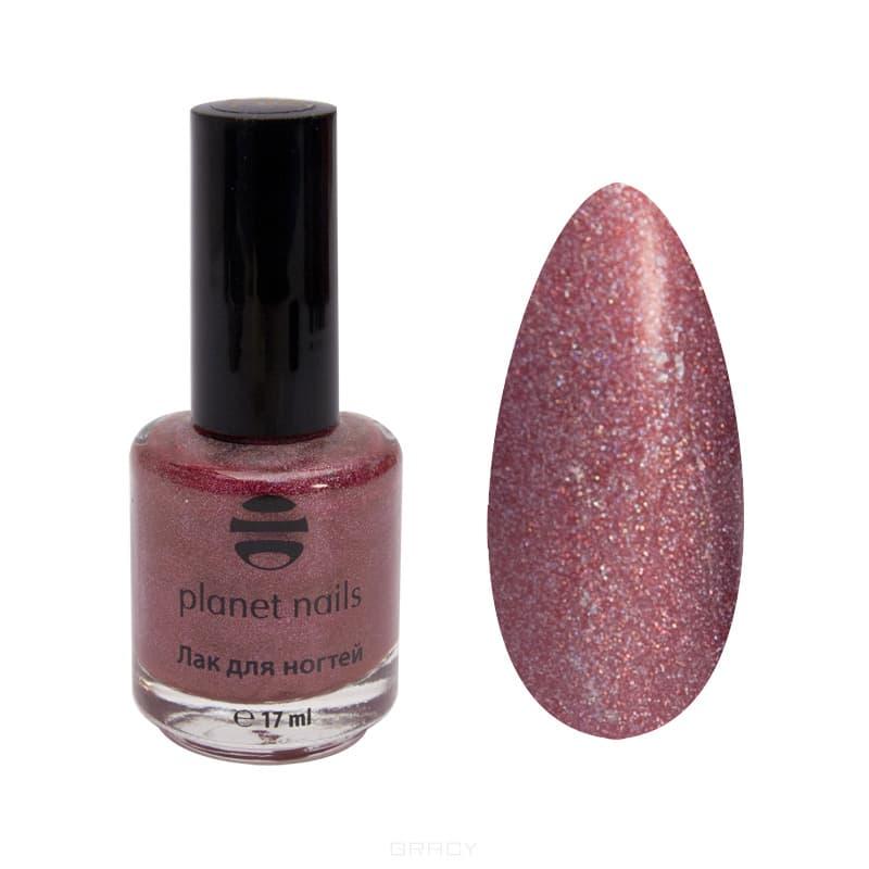 Planet Nails, Голографический лак для ногтей, 17 мл (34 оттенка) 210 planet nails голографический лак для ногтей 17 мл 34 оттенка 200 17 мл