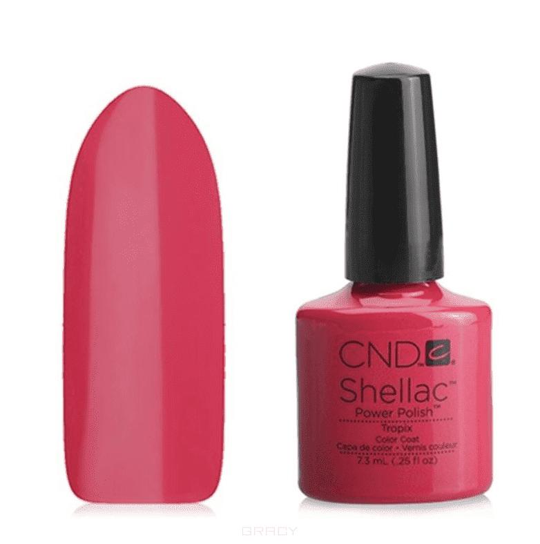 CND (Creative Nail Design), Гель-лак UV Shellac шеллак (58 оттенков) 005 Tropix cnd creative nail design гель лак uv shellac шеллак 56 оттенков 044 l summer splash pink bikini 7 3 мл