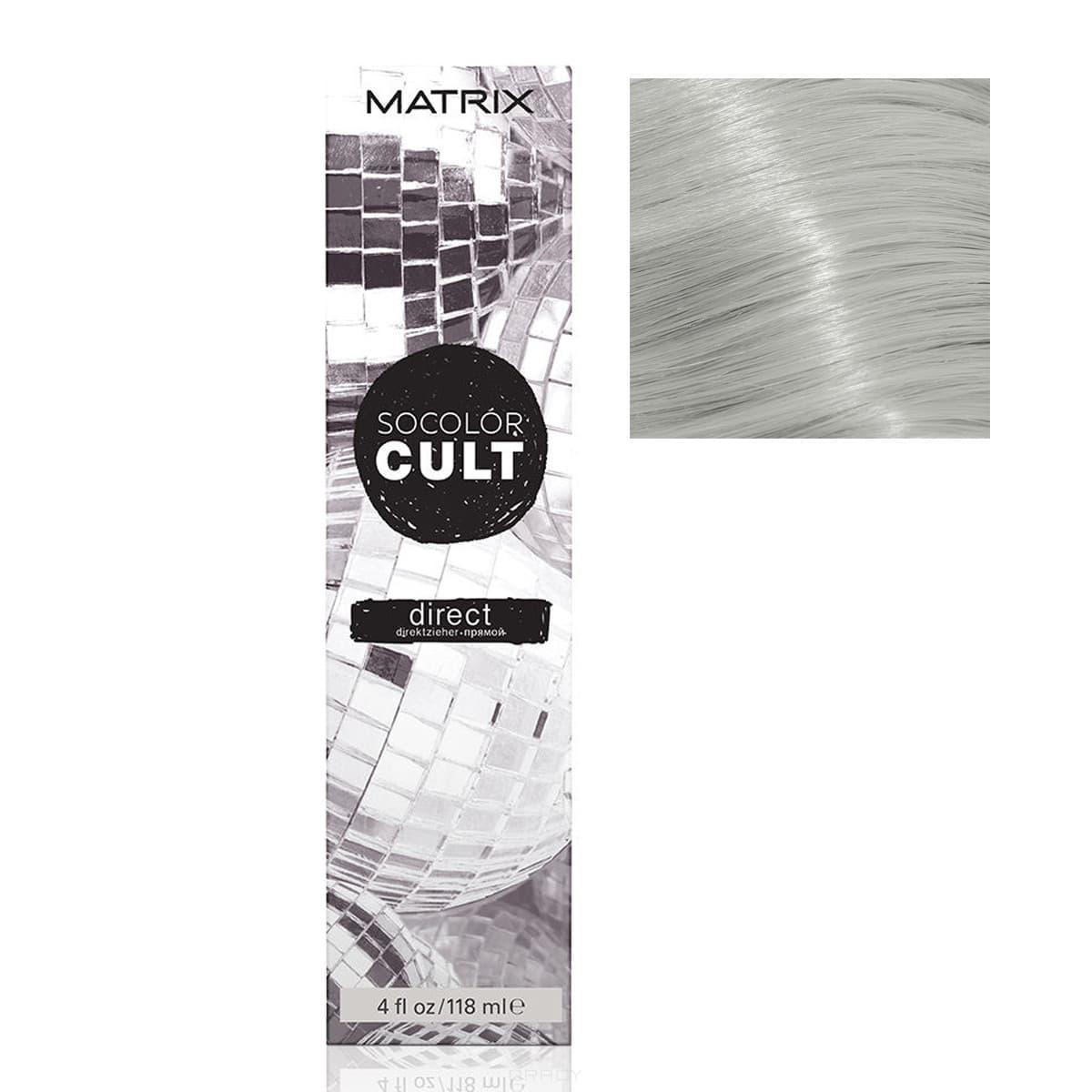 Купить Matrix, Краска для волос Socolor Cult, (14 оттенков) СЕРЕБРО ДИСКО