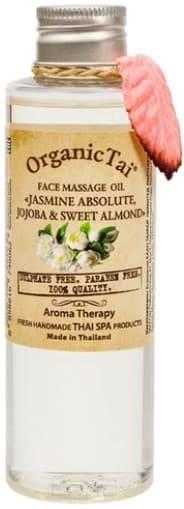 Купить Organic Tai, Массажное масло для лица Face Massage Oil Jasmin Absolute, Jojoba & Sweet Almond , 120 мл