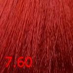 Купить Kaaral, Крем-краска для волос Baco Permament Haircolor, 100 мл (106 оттенков) 7.60 красный блондин