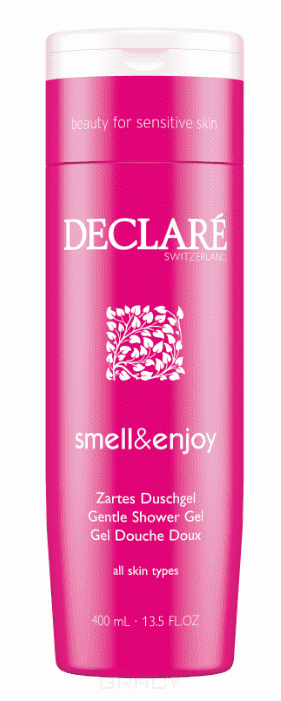 Declare, Деликатный гель для душа «Аромат и наслаждение» Smell & Enjoy Gentle Shower Gel, 400 мл