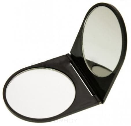 Titania, Зеркало карманное двойное в блистере titania зеркало карманное круглое 1540 зеркало карманное круглое 1540 1 шт