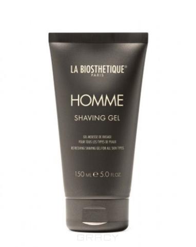 Купить La Biosthetique, Гель для бритья для всех типов кожи Homme Shaving Gel, 150 мл
