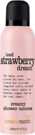 Treaclemoon, Мусс для душа клубничный смузи Iced Strawberry Dream Shower Mousse, 200 мл фото