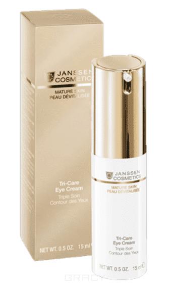 Janssen, Омолаживающий укрепляющий крем для контура глаз с комплексом Cellular Regeneration Mature Skin, 30 мл кремы eldan cosmetics крем для глазного контура premium cellular shock