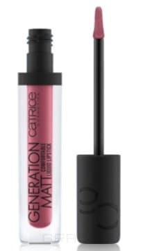 Catrice, Жидкая матовая помада для губ Generation Matt Comfortable Liquid Lipstick (10 оттенков) 060 Blushed Pink