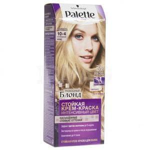 Schwarzkopf Professional, Краска для волос Palette Icc, 50 мл (40 оттенков) 10-4 Натуральный блонд schwarzkopf professional краска для волос palette icc 50 мл 40 оттенков a12 платиновый блонд 50 мл