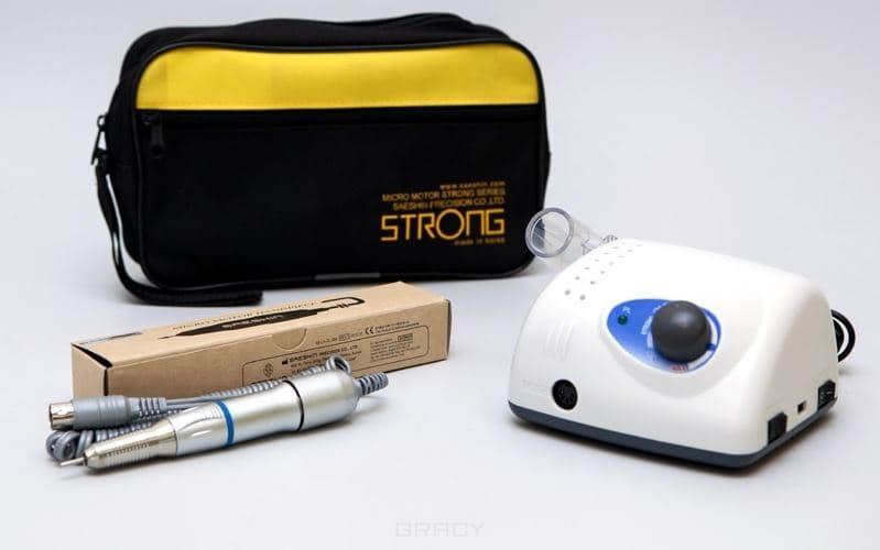 Strong, Аппарат для маникюра 210/107II (без педали с сумкой) аппарат для маникюра и педикюра strong 210 105l без педали