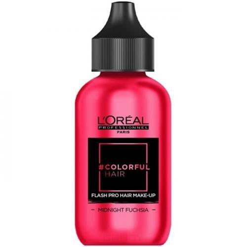 L'Oreal Professionnel, Краска-макияж для волос Colorful Hair Flash, 60 мл (11 оттенков) Дерзкая фуксия краска для волос l oreal professionnel colorful hair электрический лиловый