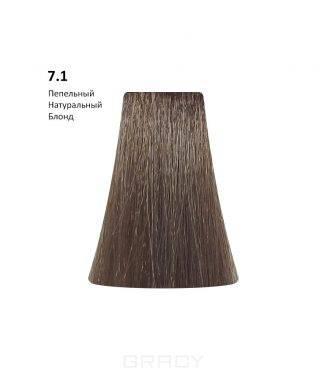 Купить BB One, Перманентная крем-краска Picasso Colour Range без аммиака (76 оттенков) 7.1Ash Natural Blond/Пепельный Натуральный Блонд