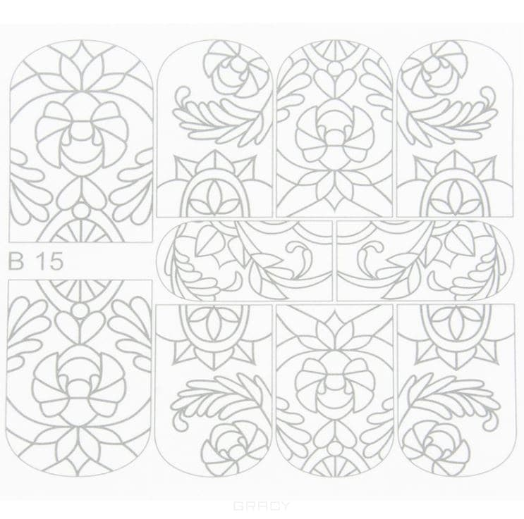 Planet Nails, Трафареты для росписи Планет Нейлс трафареты для стен цветы 2 22 31см внт 50