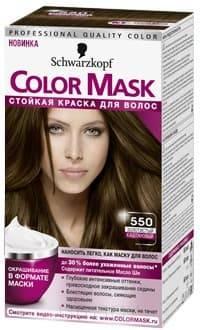 Schwarzkopf Professional, Краска для волос Color Mask, 60 мл (16 оттенков) 550 Золотистый каштановыйОкрашивание<br>Краска Schwarzkopf Color Mask   уникальная разработка для окрашивания и ухода за волосами<br> <br>Краска для волос Color Mask – уникальная разработка немецкой компании Schwarzkopf. Продукт имеет консистенцию маски, что повышает его эффективность и упрощает ...<br>