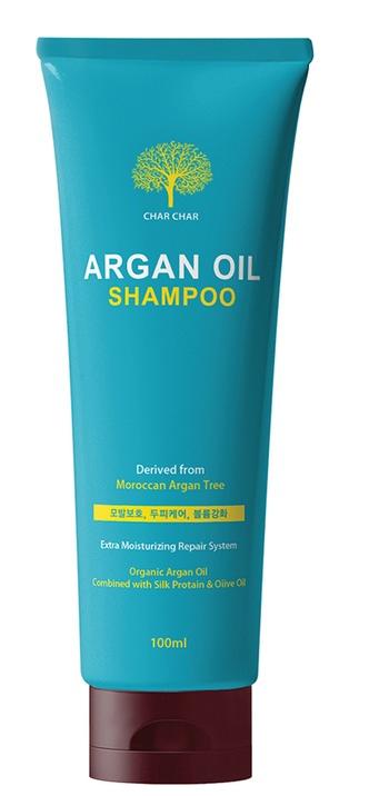 Купить Evas, Шампунь для волос с аргановым маслом Char Char Argan Oil Shampoo, 500 мл