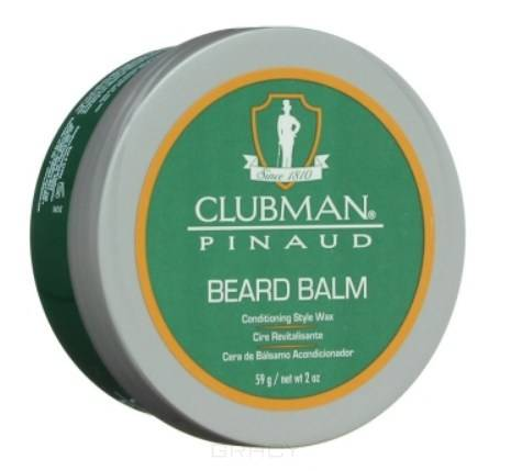 Купить Clubman, Бальзам-фиксатор для бороды Beard Balm, 59 г