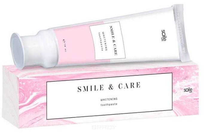 Smile Care, Зубная паста Сияние Отбеливающая Whitening Toothpaste, 70 мл pearl drops зубная паста молодая улыбка каждый день youthful smile 50 мл