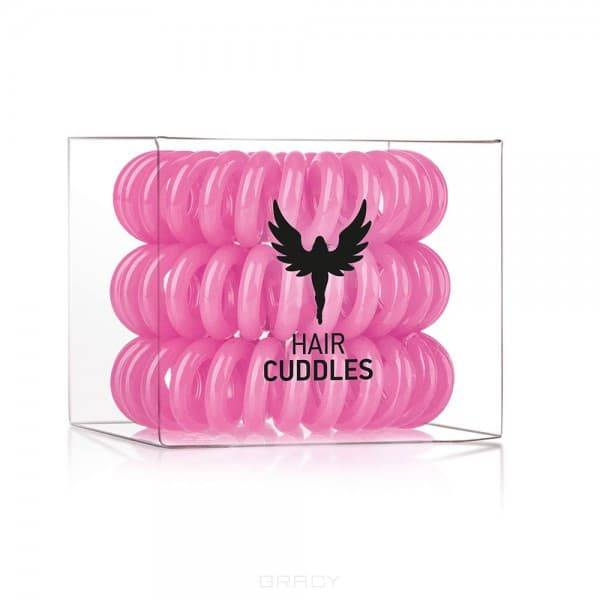 HH Simonsen, Резинка для волос Hair Bobbles розовая, 3 шт