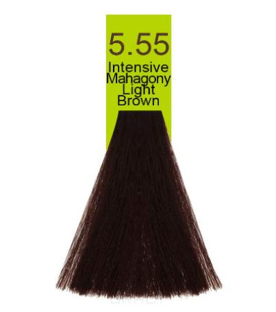 Купить Macadamia Natural Oil, Краска для волос Oil Cream Color, 100 мл (97 тонов) 5.55 Яркий красное дерево светло каштановый