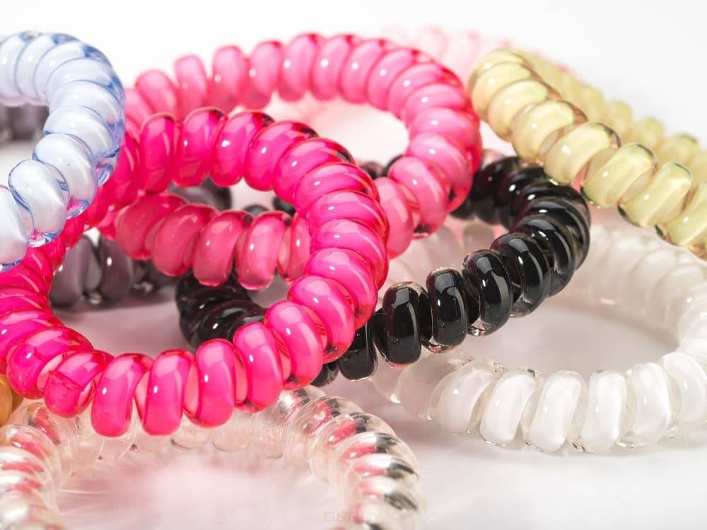 Molecule Professional, Резинка-браслет (блистер), 3 шт Розовый + светло-розовый + салатовыйРезинки дл волос<br><br>